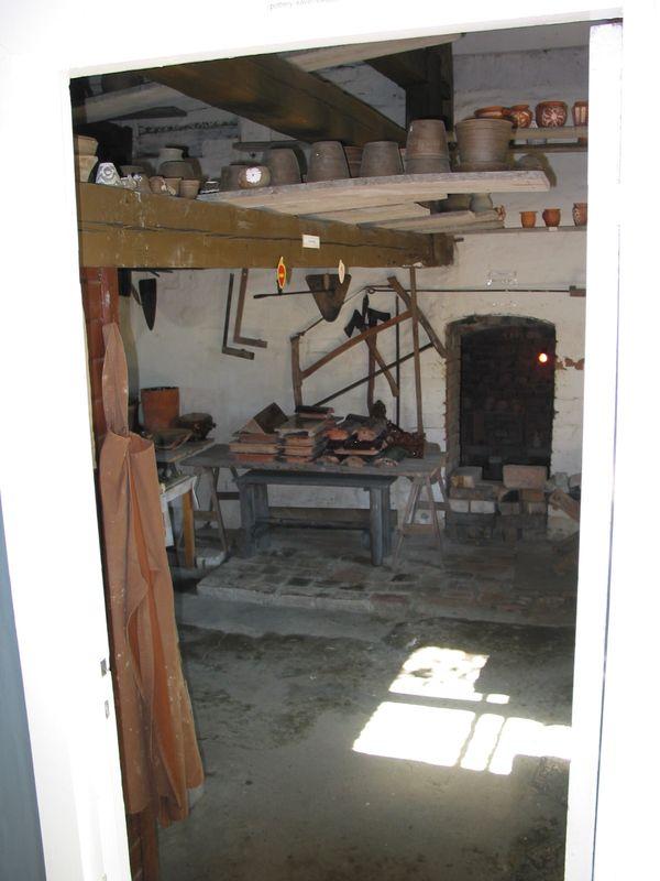 Potter's Workshop inside